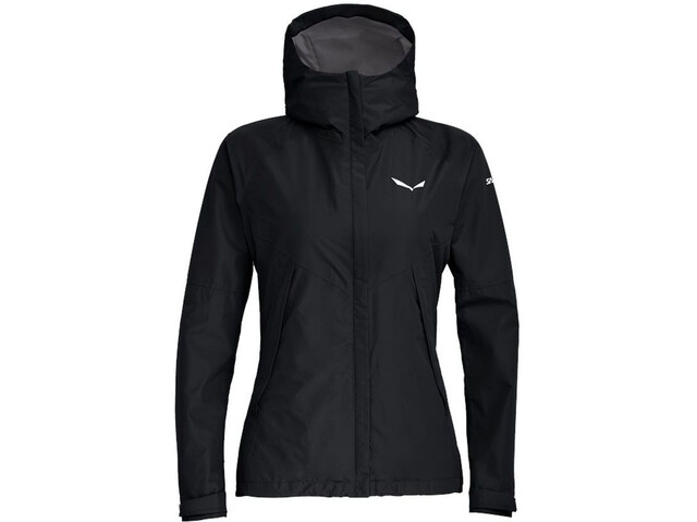 SALEWA Puez Powertex 2 Layer Jacket Women black out melange